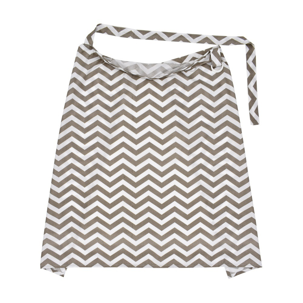 Breathable Maternity Striped Dotted Nursing Cover