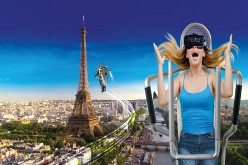 FlyView Paris - Fly over Paris in virtual reality