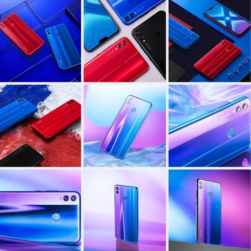 Version mondiale Smartphone Huawei Honor 8X avec identification du visage
