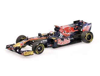 Toro Rosso STR6 (Sebastien Buemi - Showcar 2011) Diecast Model Car