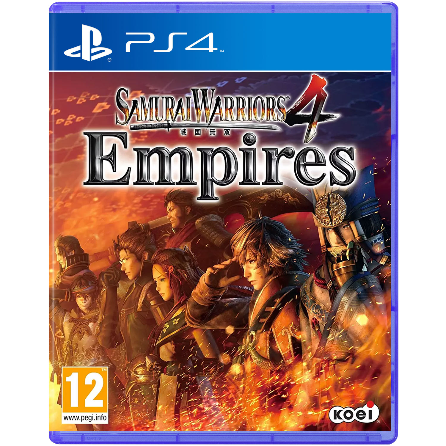 Samurai Warriors 4 Empires (Sony PS4)