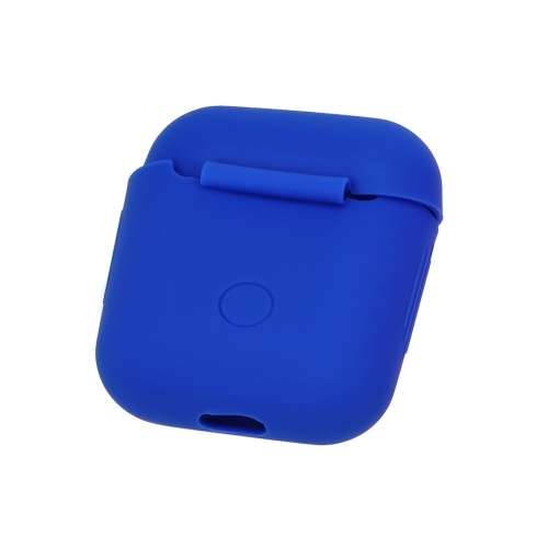 Silicone Headphones Case for Apple AirPods Wireless BT Headset Protective Storage Box Earphone Cover Pouch