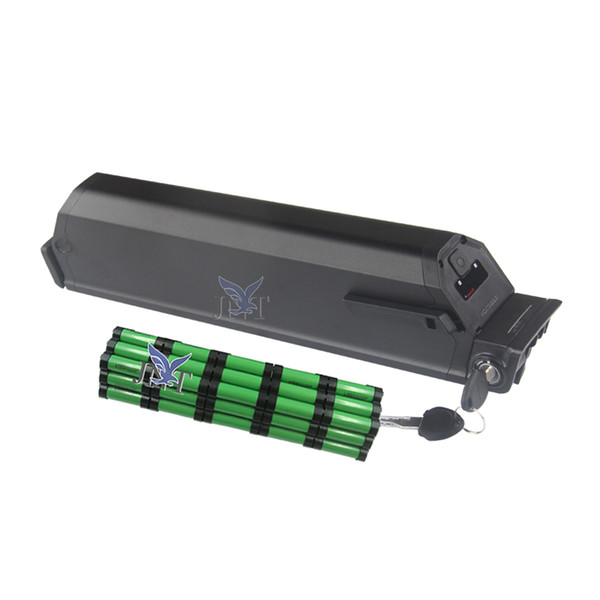 Short size 440mm Plus reention dorado battery 48v 14ah lithium ion 18650 cell 500W 850W 750W 1000W motor+2A Charger