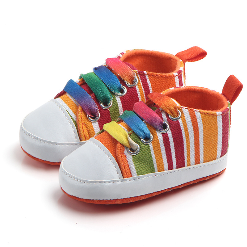 Baby / Toddler Rainbow Color First Walkers Shoes