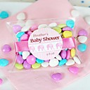 12pcs Transparent PVC Pillow Bridal or Baby Shower Gift Favor Box Candy Box without Ribbon Sticker or Tag