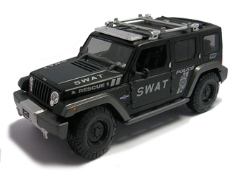 Jeep Rescue Concept Dirt Rider Diecast Model Car