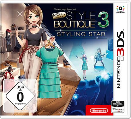 New Style Boutique 3 Styling Star - Nintendo 3DS, Nintendo 2DS, New Nintendo 2DS XL - Deutsch (2239140)
