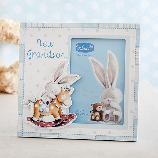 New Grandson Bebunni Photo Frame