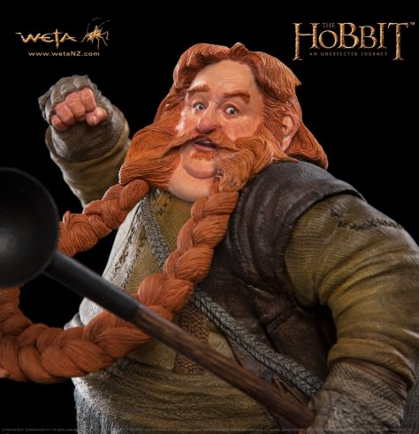 Bombur the Dwarf Polystone Statue (1:6 scale by WETA WT00985)