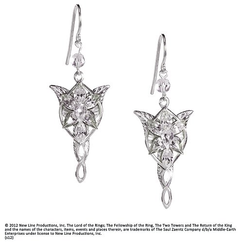 Arwen Evenstar Earrings (by Noble Collection NN2987)