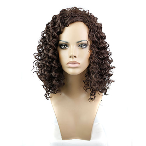 Synthetic Capless Hair Wig PWS252 Curly