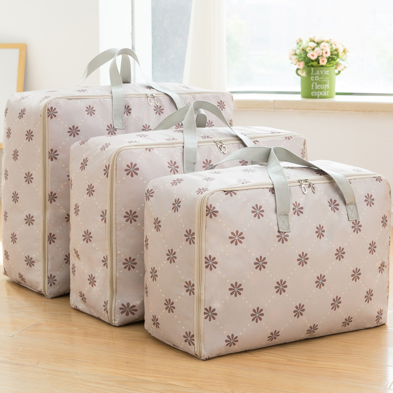 3pcs Cloth Organize Set Storage Bags 210D Foldable Waterproof Oxford Fabric Shell