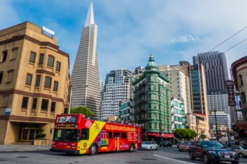 City Sightseeing - San Francisco - 3 Day Hop-On Hop-Off Tour