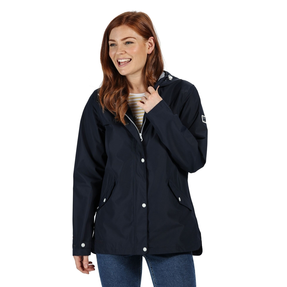 Regatta Womens Bertille Waterproof Breathable Durable Coat 10 - Bust 34' (86cm)