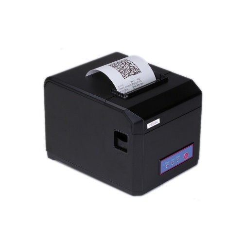 HOP-E801 80MM Thermal Printer Receipt Machine Printing Support USB+WIFI Connection