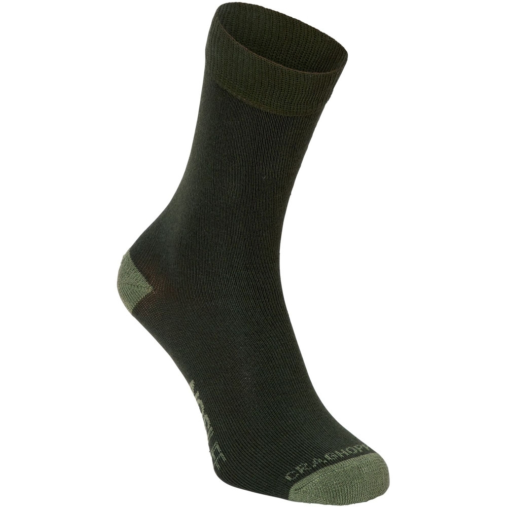 Craghoppers Womens/Ladies NosiLife Insect Repellent Travel Socks UK Size 6-8