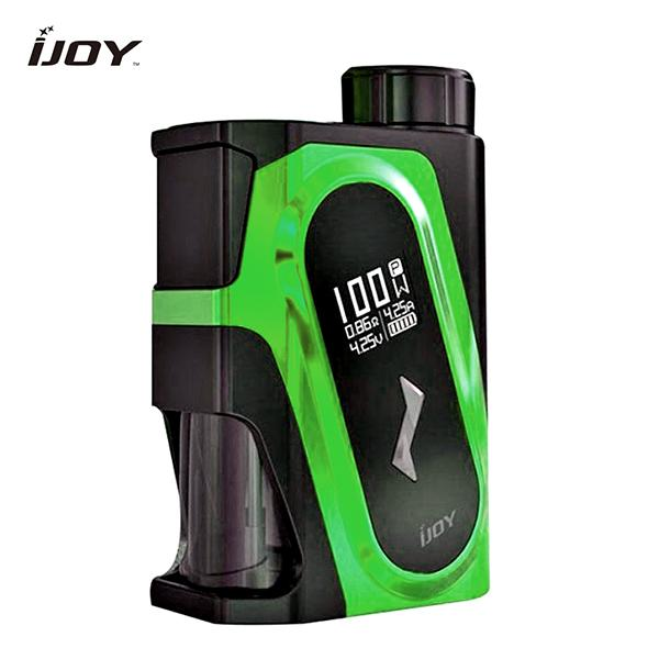 Authentic IJOY CAPO Squonk 100W 9ML Squonk Bottle 20700 Box Mod - Green