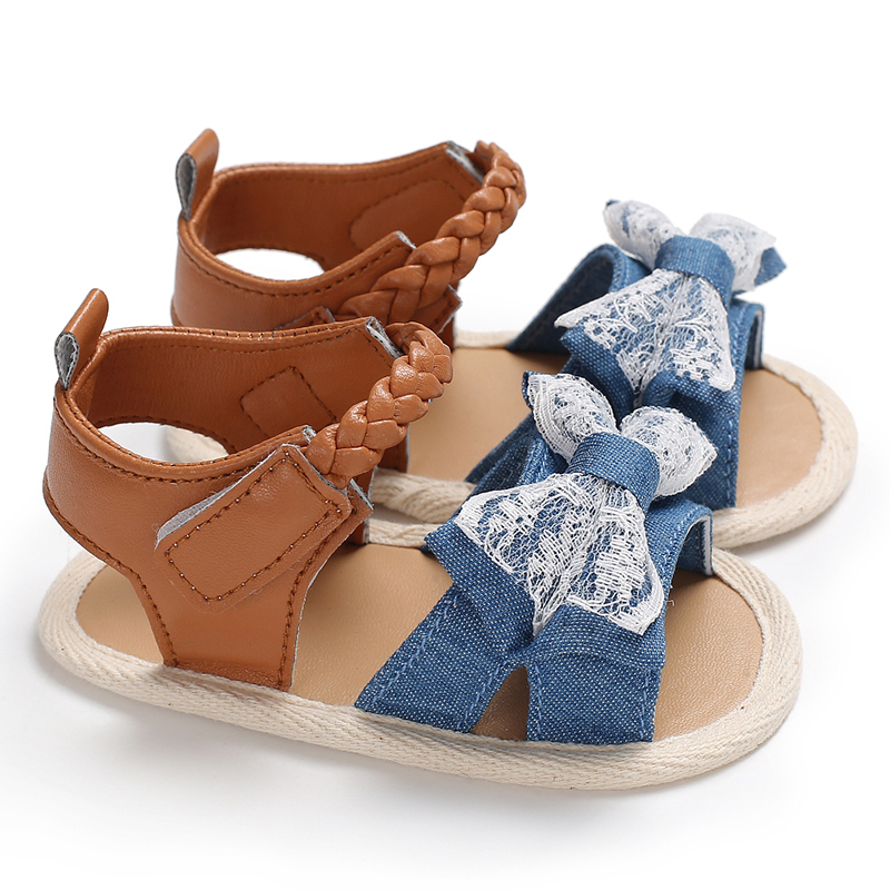 Baby / Toddler Girl Pretty Striped Sandals