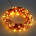 YWXLightreg; LED String Fairy Lights Waterproof 5M 50LED Copper Wire Fairy String Light Christmas Wedding Party Decoration AA Battery (No batteries)