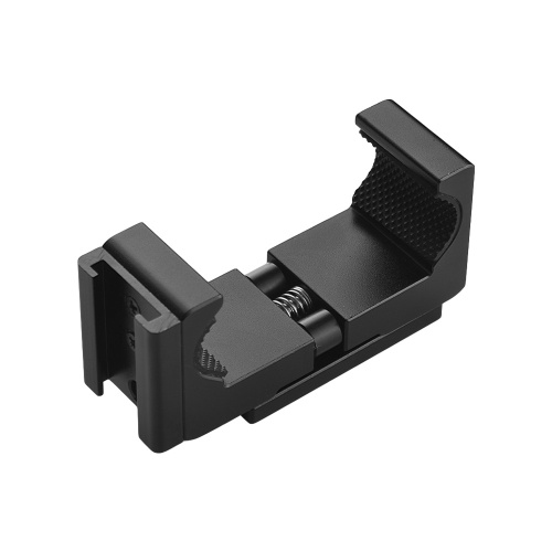 Q12 Adjustable Aluminum Alloy Phone Holder Clip 1/4