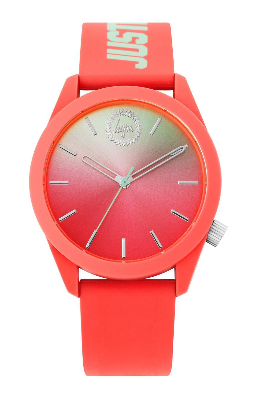Hype Coral Gradient Kids Watch