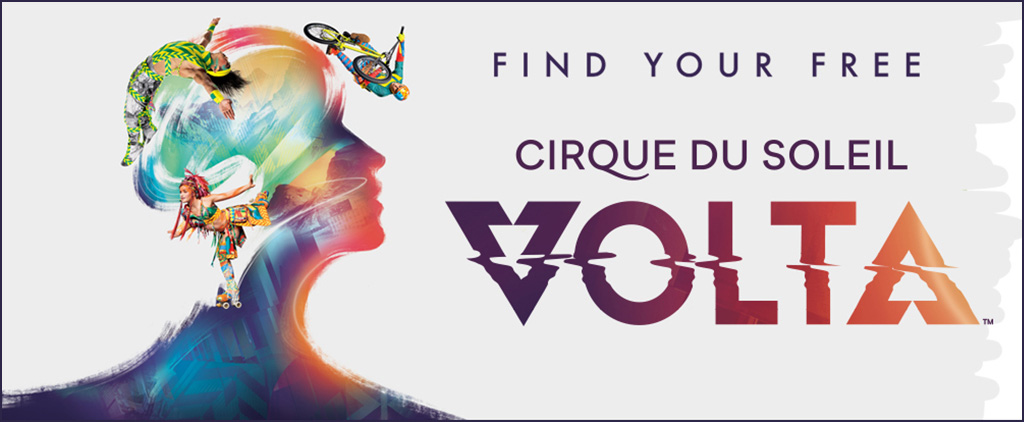 VOLTA by Cirque du Soleil - East Rutherford NJ