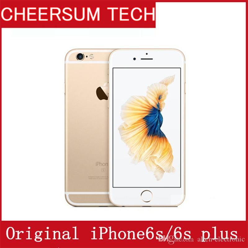 Refurbished Original 4.7''5.5''Apple iPhone 6S/6s plus with Touch ID IOS 9 Dual Core 2GB RAM 16GB 64GB 128GB ROM 12MP Camera UNLOCKED