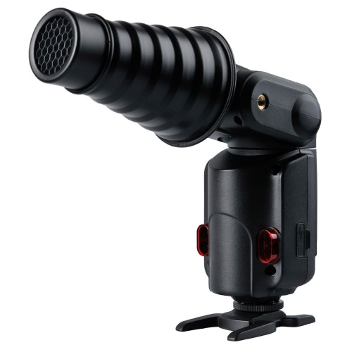 Godox AD-S9 Snoot avec grille nid d'abeille pour  WITSTRO Speedlite Flash AD180 AD360