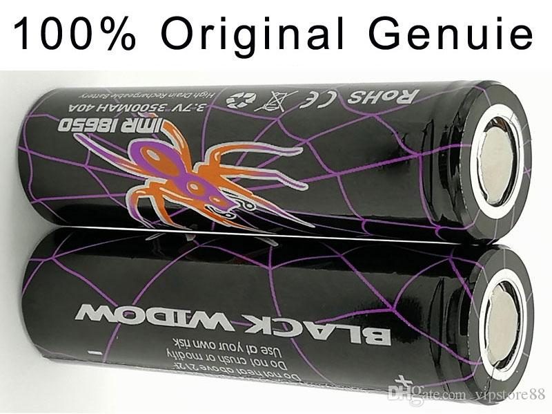 100% Original Genuine High Quality 18650 batteries BLACK WIDOW 4000mAh 3.7V ECig High Drain Rechargeable Lithium Batteries LG Cell Vaporizer