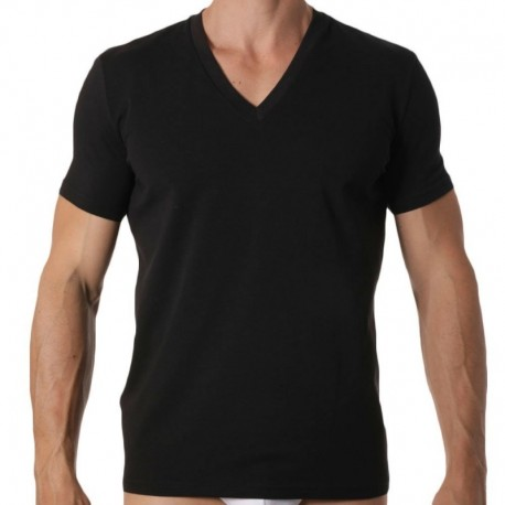 DSQUARED2 2-Pack V-Neck T-Shirts - Black L