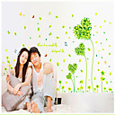 Green Countryside Pattern Wall Sticker(1PCS)
