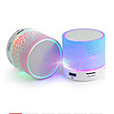 a9 altavoz bluetooth mini altavoz inalámbrico crack led tf usb subwoofer altavoces bluetooth mp3 estéreo audio reproductor de música