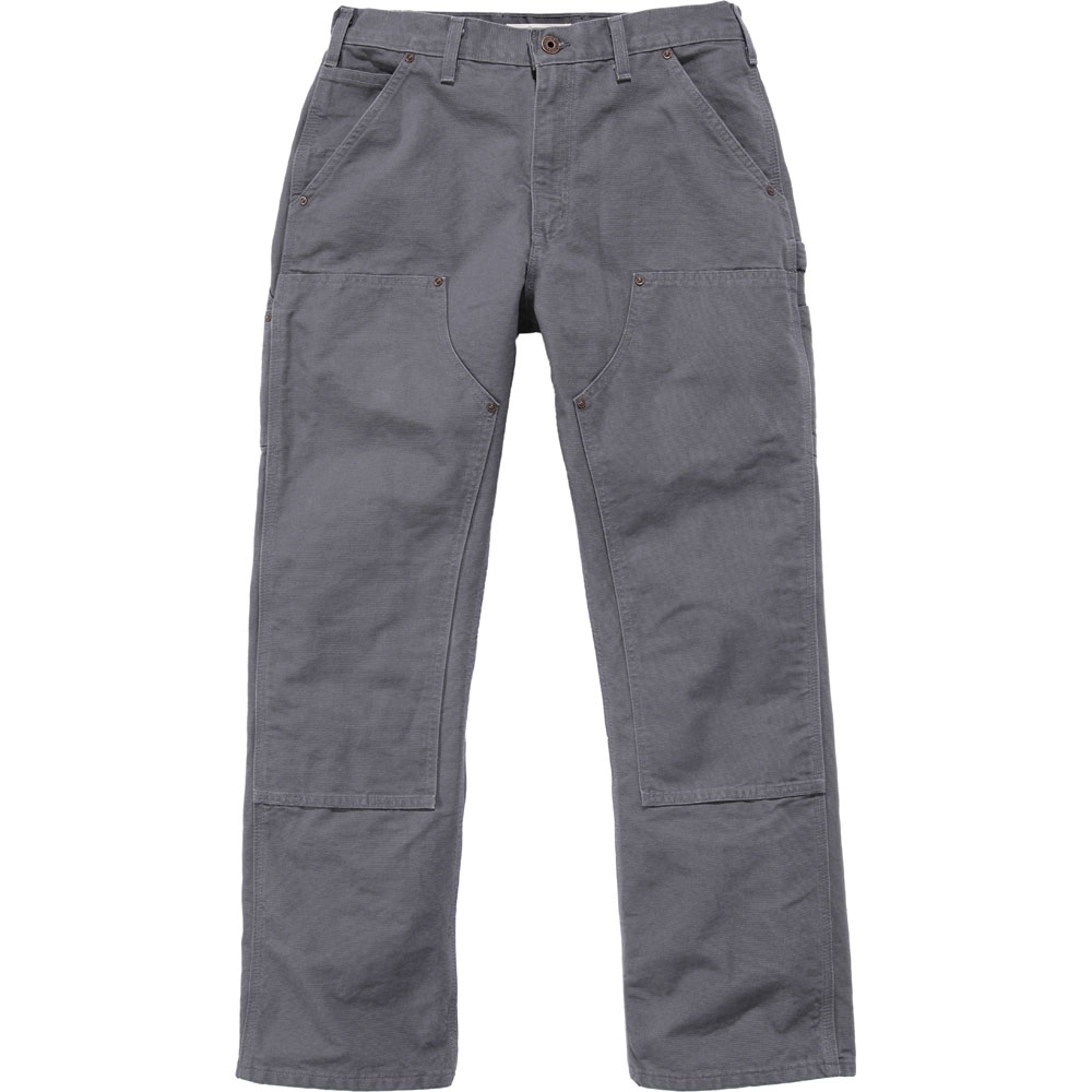 Carhartt Mens Double Front Triple Stitch Straight Work Pants Trousers Waist 33