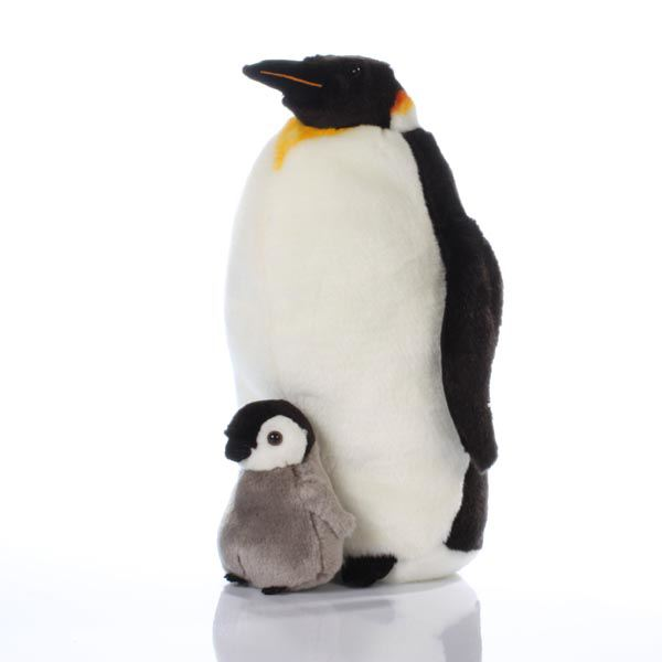 Mummy Penguin and Chick