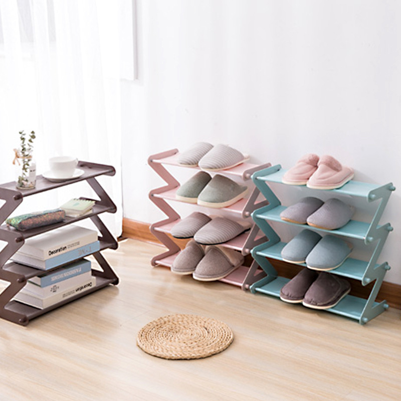 Foldable Stainless Steel Frame Shoes Storage Rack