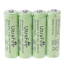 UltraFire 3500mAh Rechargeable AA Batteries (4pcs)