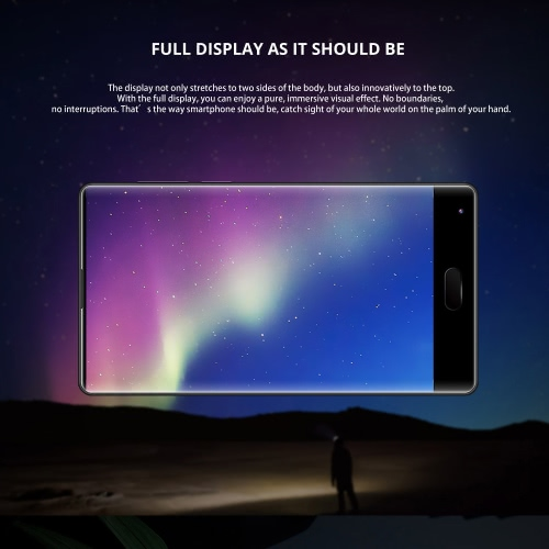 DOOGEE MIX 4G Smartphone 5.5 pouces AMOLED 4GB RAM 64 Go ROM Dual Back Camera Lens