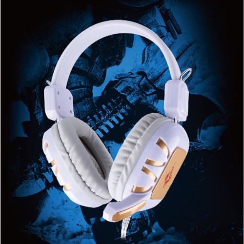 Professional Wired Gaming Headset Over-Ear with Microphone for PC