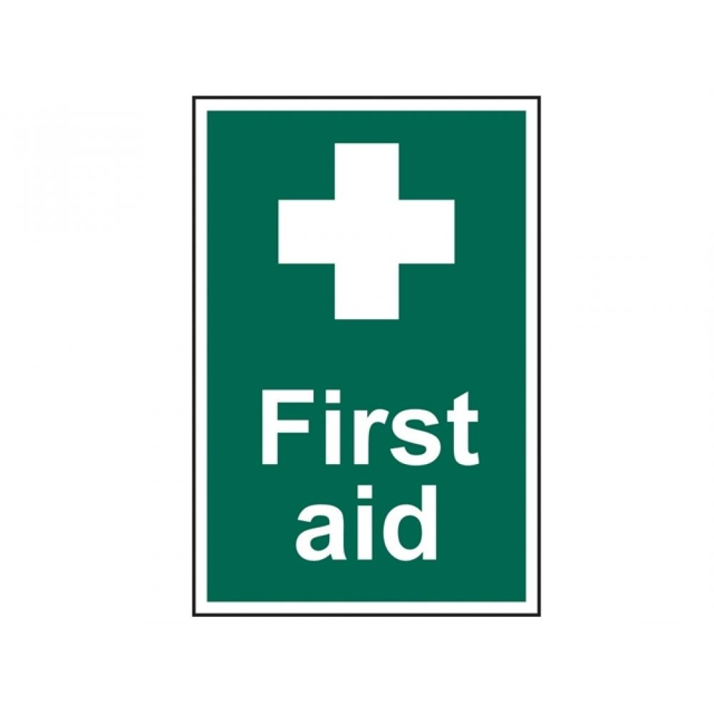 Scan First Aid - PVC 200 x 300mm