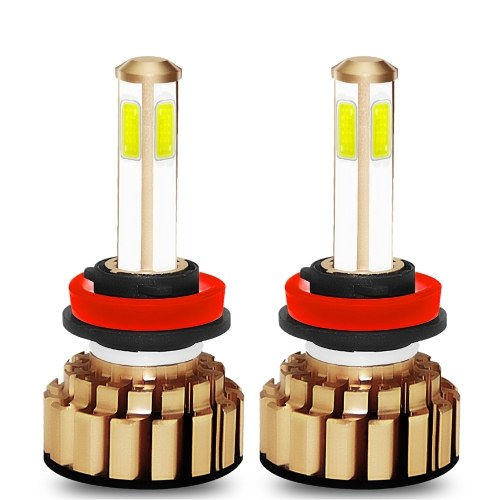 2Pcs LED Headlight Bulbs Car Lamp H11