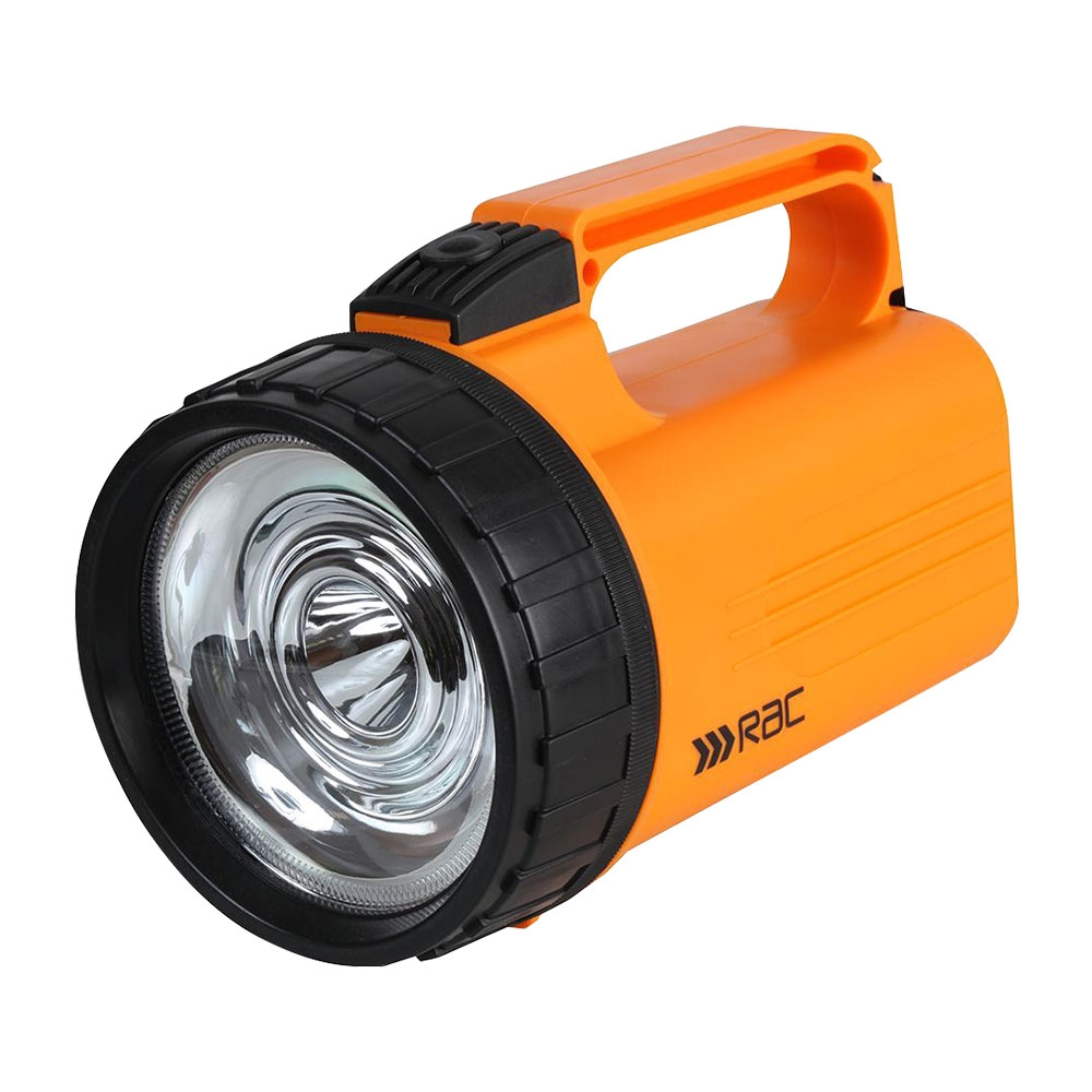 RAC Heavy Duty Weatherproof LED Lantern Torch 120 Lumen 3W Inc Batteries RACHP392