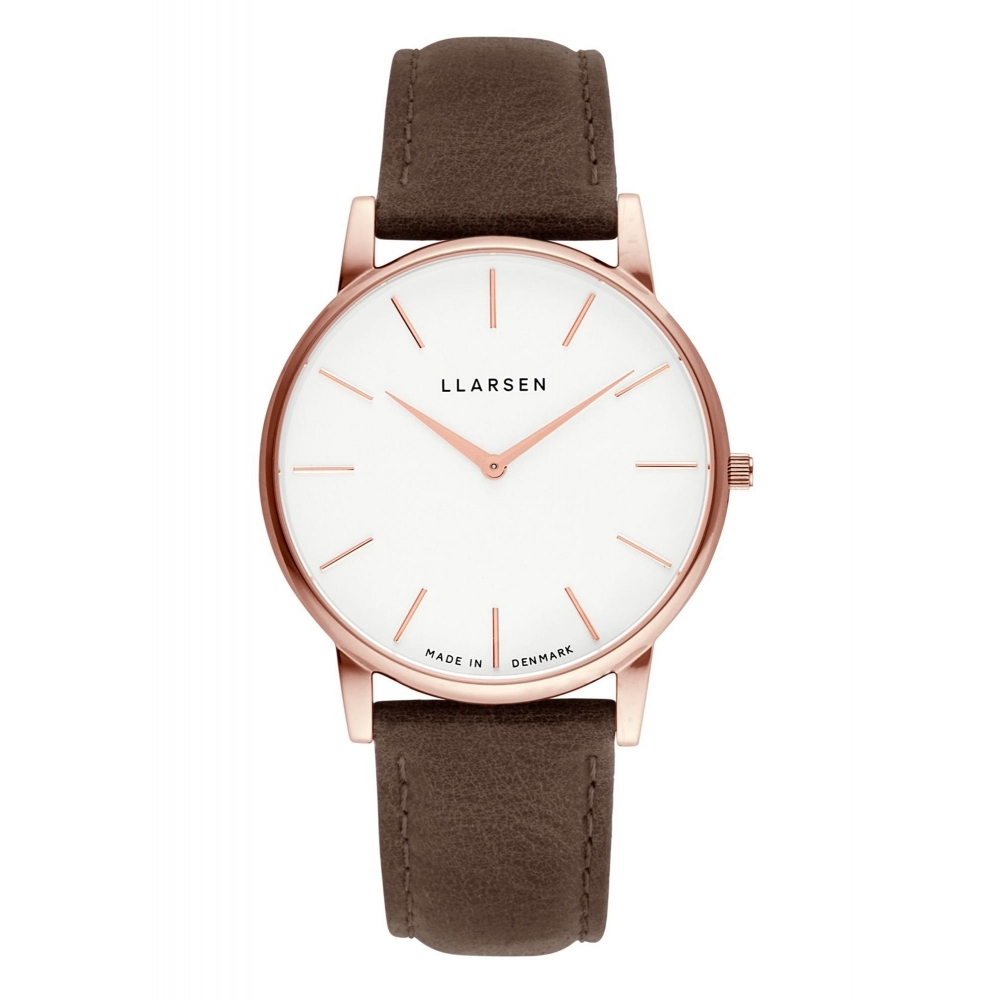 Llarsen 147RWR3-RWOOD20 Men's Oliver Wood Wristwatch