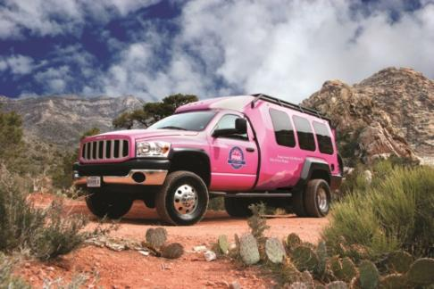 Pink Jeep Tours Las Vegas - Grand Canyon Drive, Fly & Float