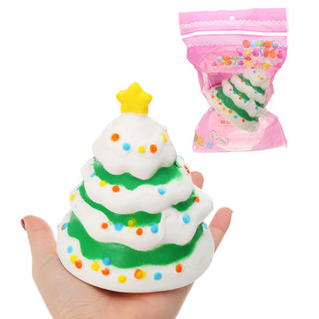 Christmas Tree Fruit Model Children's Squishy