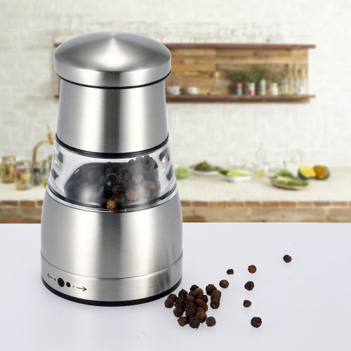Stainless Steel Portable Manual Pepper Grinder Muller Mill Kitchen Seasoning Grinding Tool