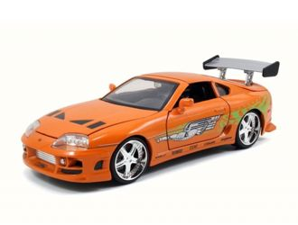 Toyota Supra Diecast Model Car from Fast And Furious