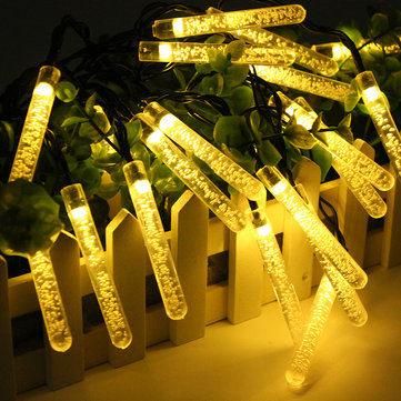 4.8M 20 LED Bubble Icicle Fairy String Light
