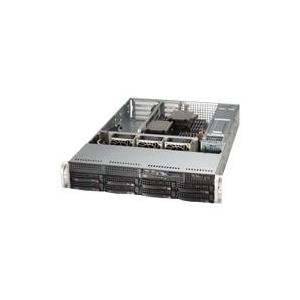 "Super Micro Supermicro SuperServer 6028R-WTR - Server - Rack-Montage - 2U - zweiweg - SATA/SAS - Hot-Swap 8,9 cm (3.5"""") - kein HDD - AST2400 - GigE  (SYS-6028R-WTR)"