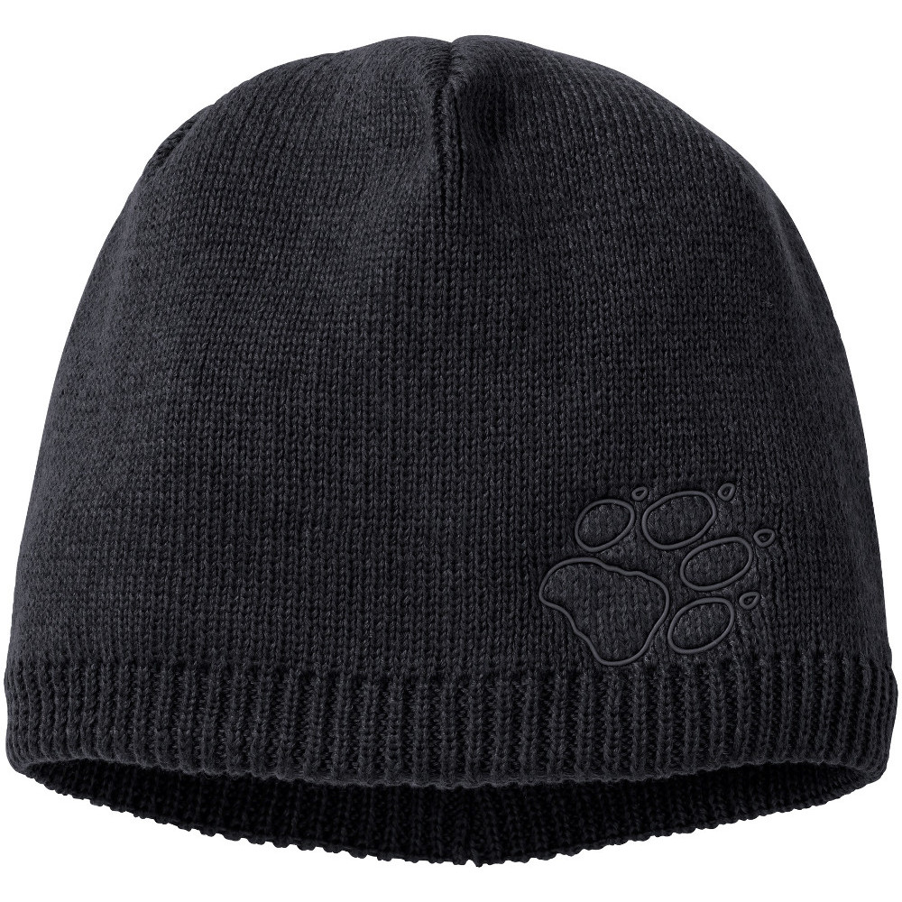 Jack Wolfskin Mens Stormlock Paw Windproof Knitted Hat L- Chest 42-44', (104-108cm)