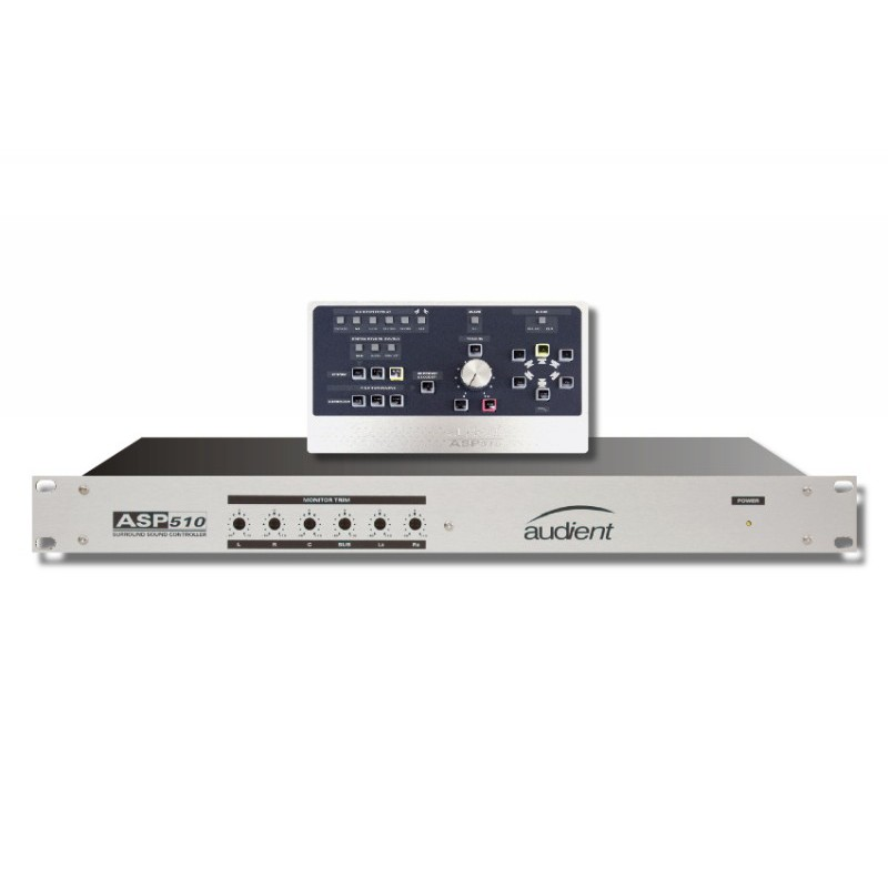 Audient ASP510 Stereo und Surround Sound Monitor Controller